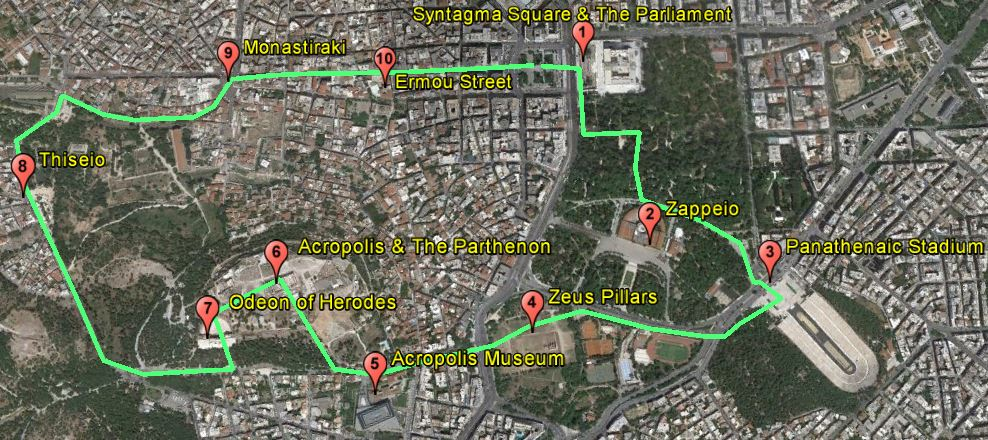 Athens City Tour and Athens Main Attractions